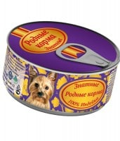 фото Родные корма Знатные Консервы для собак 100% Индейка