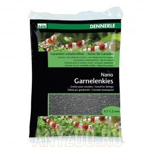 Купить Dennerle Nano Garnelenkies, цвет Sulawesi black. Грунт для мини-аквариумов, фракция 0,7-1,2 мм