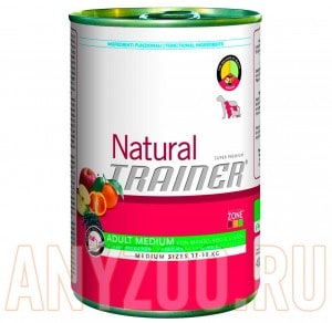 Trainer Natural Medium Adult Beef, Rice and Ginseng