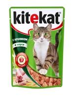 фото KiteKat - Китикет консервы для кошек Кролик в соусе (пауч)