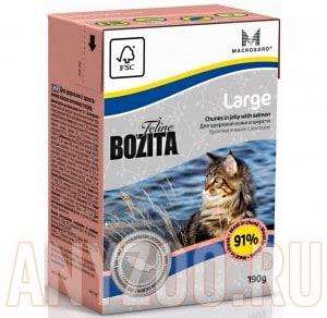 Купить Bozita Tetra Pak Funktion Large Бозита кусочки в желе для кошек крупных пород