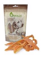 Органикс Лакомство для собак Полоски из куриного филе 100% мясо