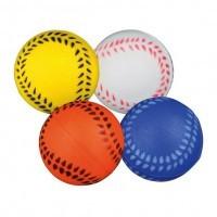 """фото Trixie Набор игрушек для кошек мячиков """"Бейсбол """" 4шт ф3,5см"""