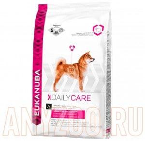 фото Eukanuba Dog DC Sensitive Digestion - Эукануба Сенситив корм для собак с чувствительным желудком