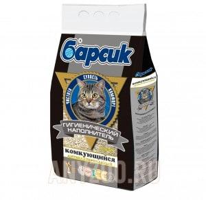 Барсик Комкующийся наполнитель для кошек