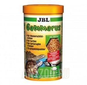JBL Gammarus Корм-лакомство для водных черепах, очищенный гаммарус