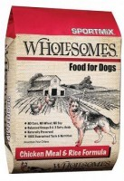 SportMix Wholesomes Dog Food chiken meal&rice-