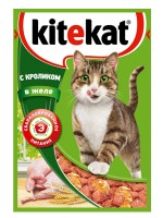 фото KiteKat - Китикет консервы для кошек Кролик в желе (пауч)