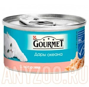 фото Gourmet Дары океана консервы для кошек Лосось