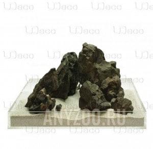 """Купить UDeco Grey Stone MIX SET Натуральный камень """"Серый"""" для оформления аквариумов и террариумов"""