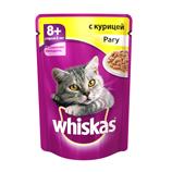 фото Whiskas Вискас Пауч для кошек Сеньор Рагу Курица
