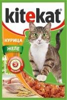 фото KiteKat - Китикет для кошек пауч Курица в желе