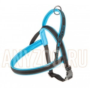 фото Ferplast Sport Dog P Large Ферпласт шлейка для собак крупных пород синяя 78004825