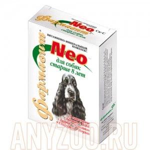 Фармавит Neo витаминно-минеральный комплекс для стареющих собак собак