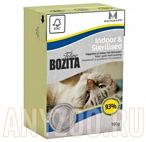 Bozita Tetra Pak Funktion Indoor&Sterilised