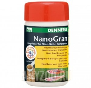 фото Dennerle Nano Gran Основной корм в форме мини-гранул для небольших рыб