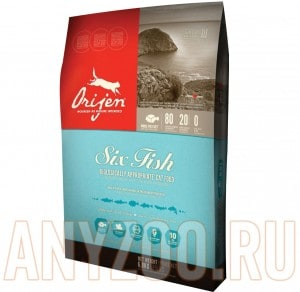 Orijen Cat 6 fresh fish formula  80/20