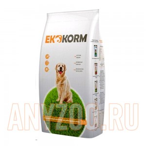 Эккорм сухой корм для собак крупных пород