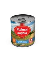 фото Родные корма Консервы для собак Говядина с овощами по-касимовски