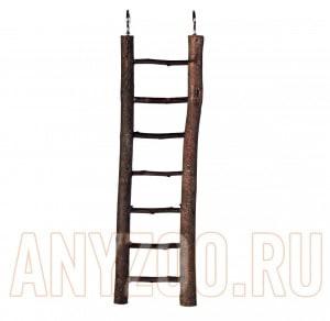 фото Trixie Трикси лестница для птиц из необработанного дерева
