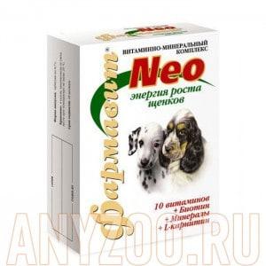 Фармавит Neo витаминно-минеральный комплекс Энергия роста для щенков