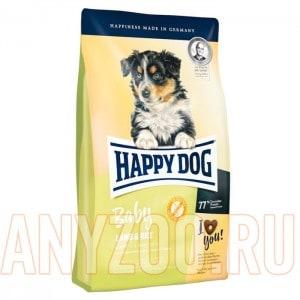 Купить Happy Dog Baby Lamb&Rice  Хэппи Дог Корм с ягненком и рисом для щенков всех пород от 1 до 6 месяцев