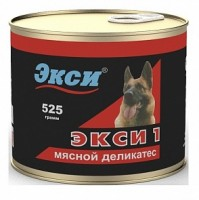 Экси 1 Консервы Мясной деликатес для взрослых собак