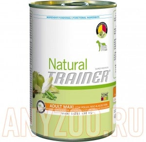Trainer Natural Maxi Adult Chicken, Rice and Aloe Vera