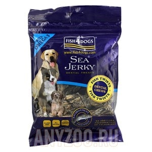 Fish4Dogs Sea Jerky Fish Twists