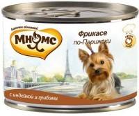 Мнямс Консервированный корм для собак Фрикасе по-Парижски,  индейка c грибами
