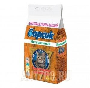 Барсик Натурал древесный наполнитель для кошек