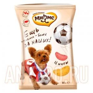 Купить Мнямс Чипсы с курицей и говядиной для собак