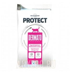фото Flatazor Protect Dermato Alergo Сухой корм для кошек с чувствительным пищеварением, аллергиями