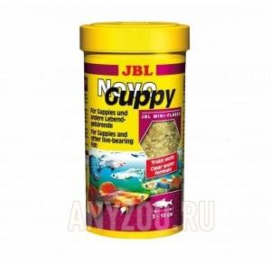фото JBL NovoGuppy Основной корм для гуппи и других живородящих