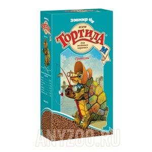 Зоомир Тортила-М корм в гранулах для водных черепах