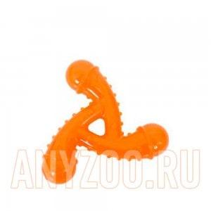 Грызлик Dental игрушка для собак звездочка с шипами 11,5см