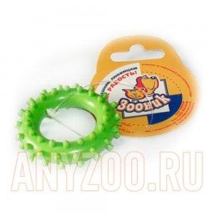 Зооник Игрушка для собак Кольцо с шипами