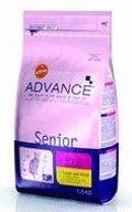 фото Advance Senior Sterilized +7 Эдванс Сеньор Стерилайзд сухой корм для пожилых стерилизованных кошек
