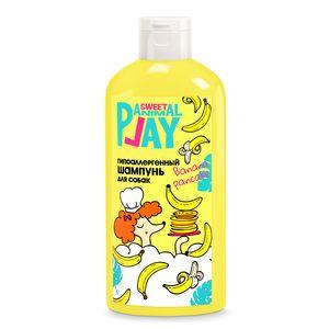 Фото товара Animal Play Sweet Энимал Плей Шампунь для собак гипоаллергенный Банановый панкейк