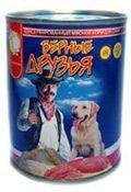 фото Верные друзья - консервы для собак говядина c морковью в соусе