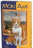 МонАми Сухой корм для кошек Морской коктейль