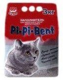 """фото Pi-Pi-Bent """"Классик"""" комкующийся наполнитель для кошачьего туалета (полителеновый пакет)"""
